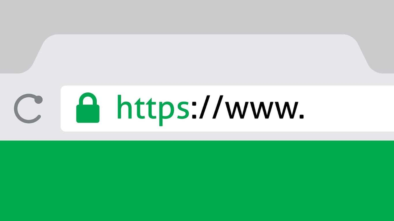When trying to go to the site over https, it displays the message 'The page cannot be displayed.' Why is that?